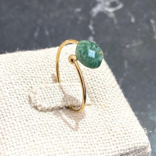 Anillo piedra verde [2]