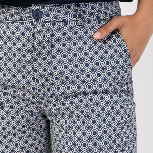 Pantalón estampado [0]