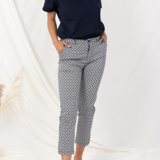 Pantalón estampado [2]