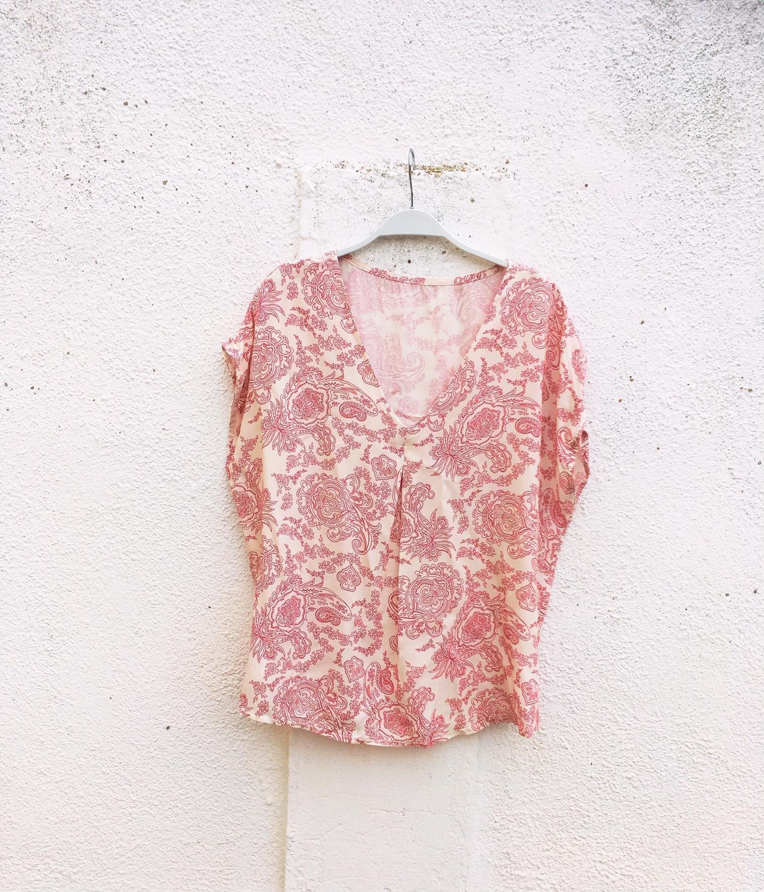 blusa viscosa