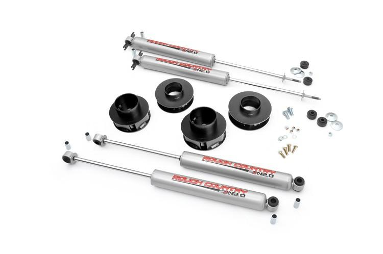 "KIT SUSPENSION 2""- JEEP GRAND CHEROKEE WJ WG (ROUGH COUNTRY)"