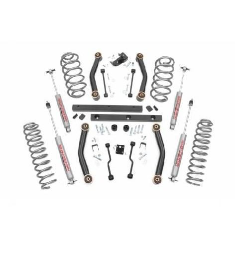 "KIT SUSPENSIÓN 4"" JEEP WRANGLER TJ 97/02 (ROUGH COUNTRY)"