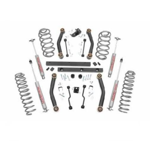 "KIT SUSPENSIÓN 4"" JEEP WRANGLER TJ 97/02 (ROUGH COUNTRY) [0]"