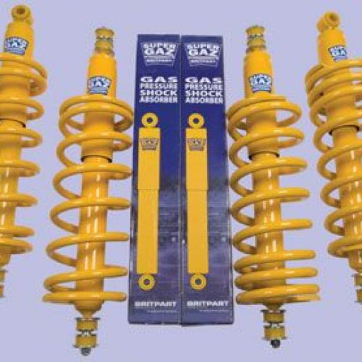 KIT SUSPENSIÓN +5CM BRITPART SUPER GAZ