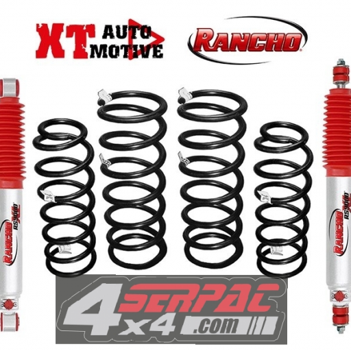 KIT RANCHO 9000 (REGULABLE 9 POSICIONES)+6 CM PATROL GR Y60
