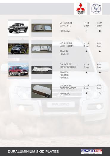 PROTECCIONES MITSUBISHI MONTERO/PAJERO II V20 (ALMONT4WD)