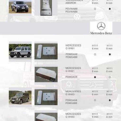 PROTECCIONES MERCEDES SPRINTER 2/3 4X4 (ALMONT4WD)