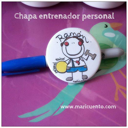 Chapa Entrenador Personal