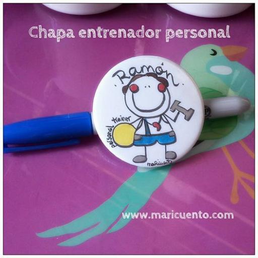 Chapa Entrenador Personal [0]