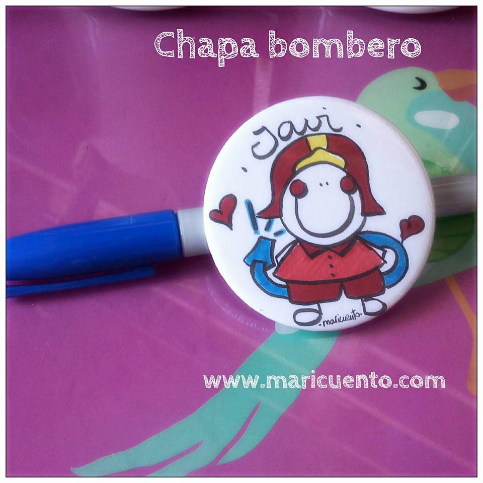 Chapa Bombero