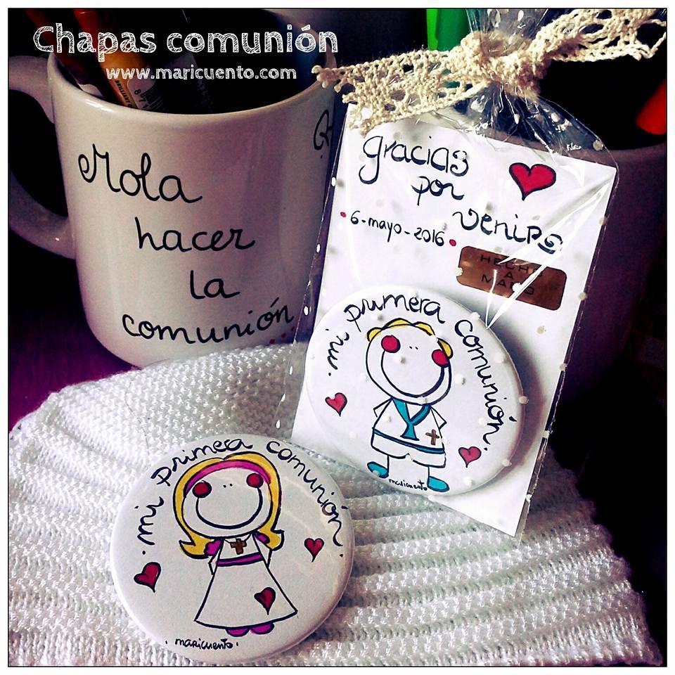 Chapa Comunión