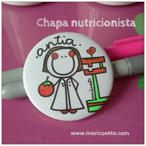 Chapa Dietista/Nutricionista