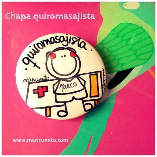 Chapa quiromasajista [1]