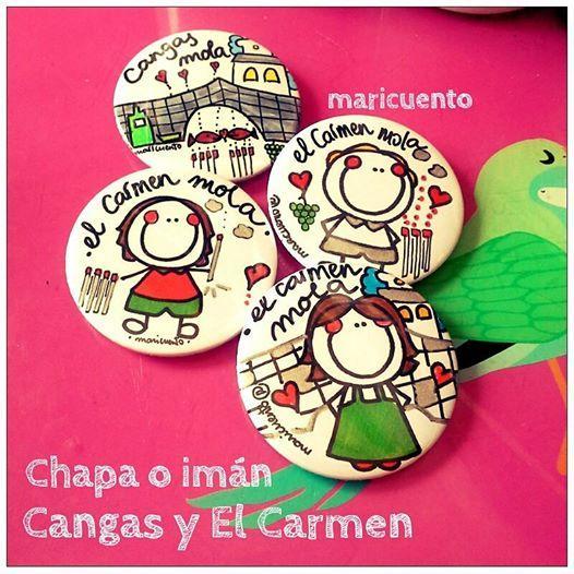 Chapas Cangas del Narcea (varios modelos)