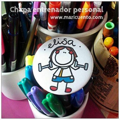 Chapa Entrenador Personal [2]
