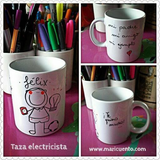 Taza Electricista