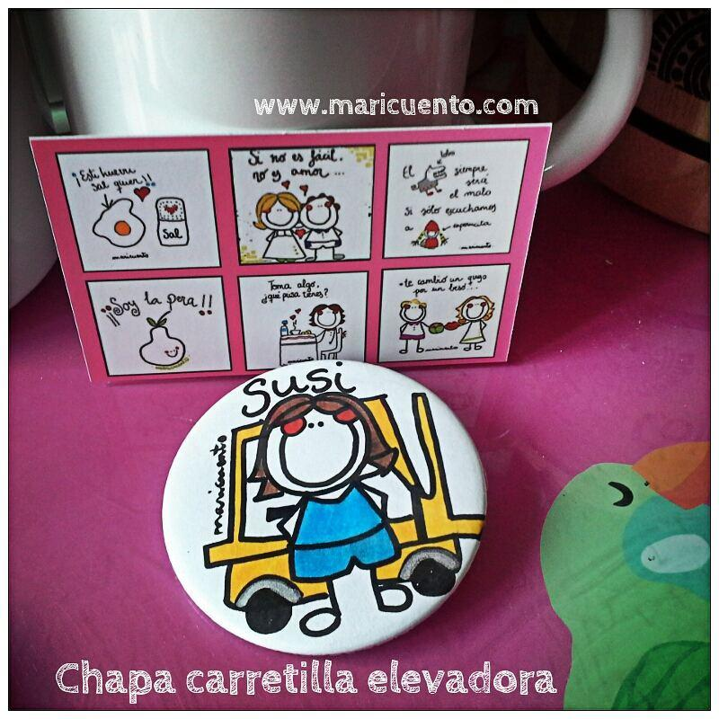 Chapa Carretilla Elevadora