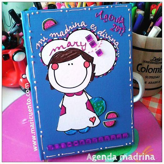 Agenda Madrina. Talla L