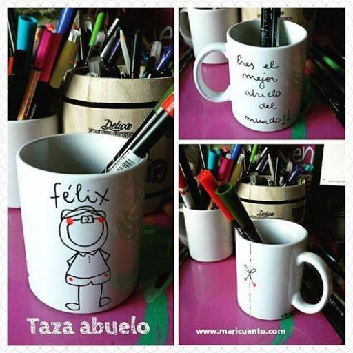 Taza Abuelo/a [2]