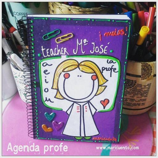 Agenda Profesora. Talla L [2]