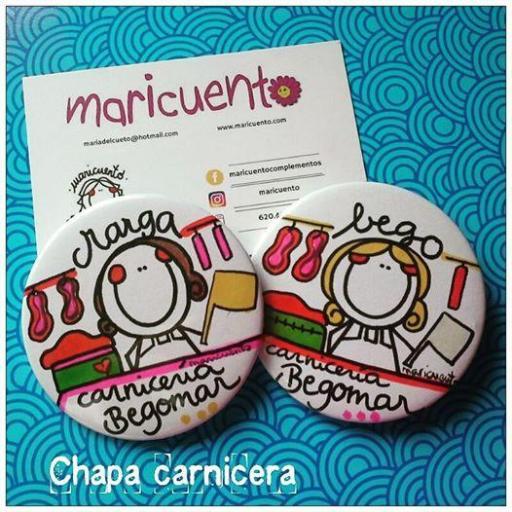 "Chapa ""La mejor carnicera"" [2]"