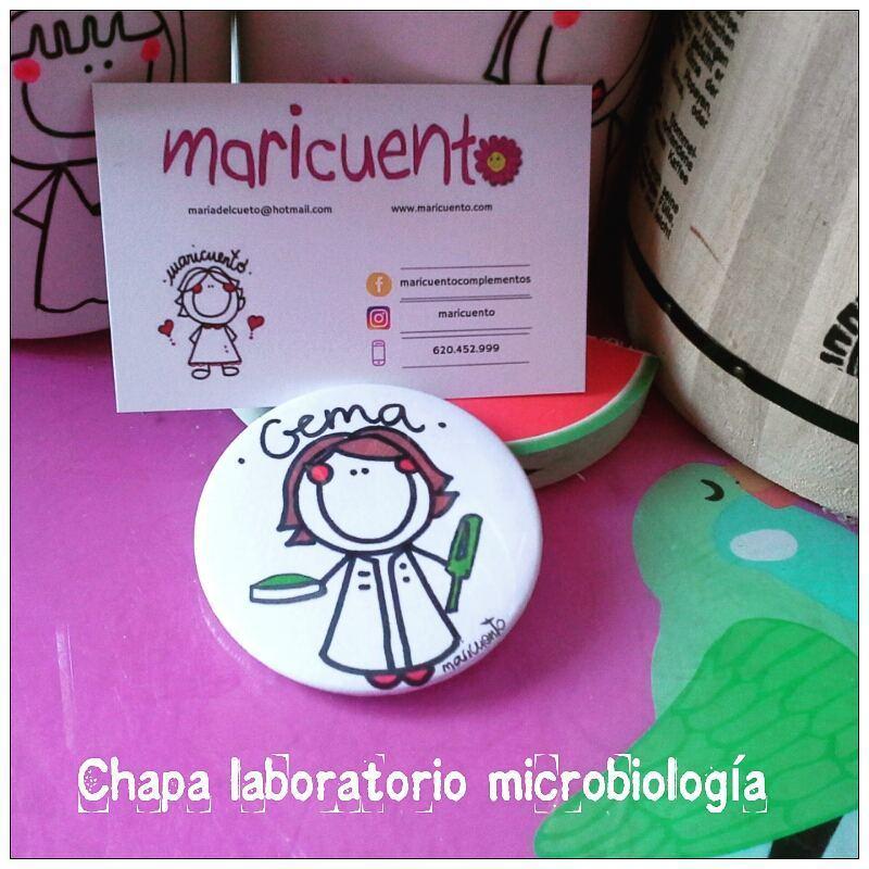 Chapa laboratorio microbiología