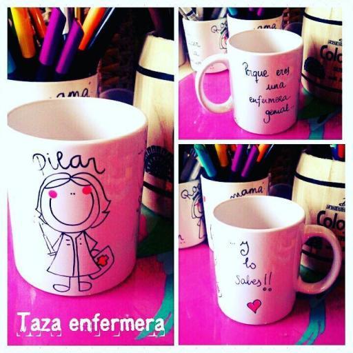 Taza Enfermera/Auxiliar