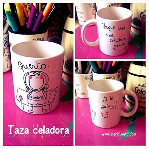 Taza Celadora