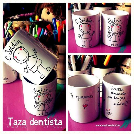 Taza dentista