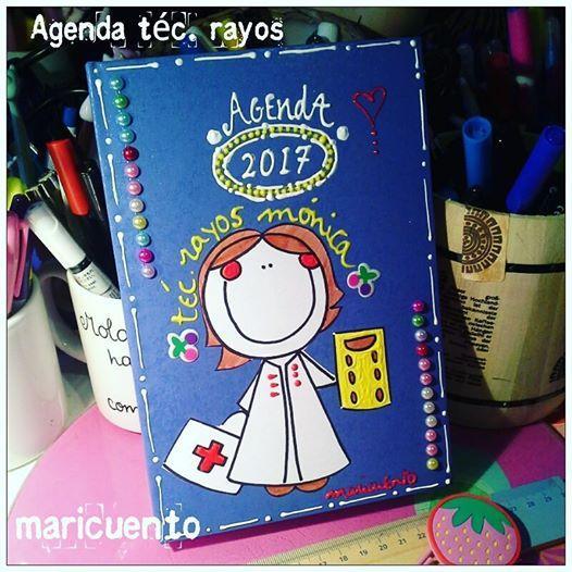 Agenda Rayos. Talla L