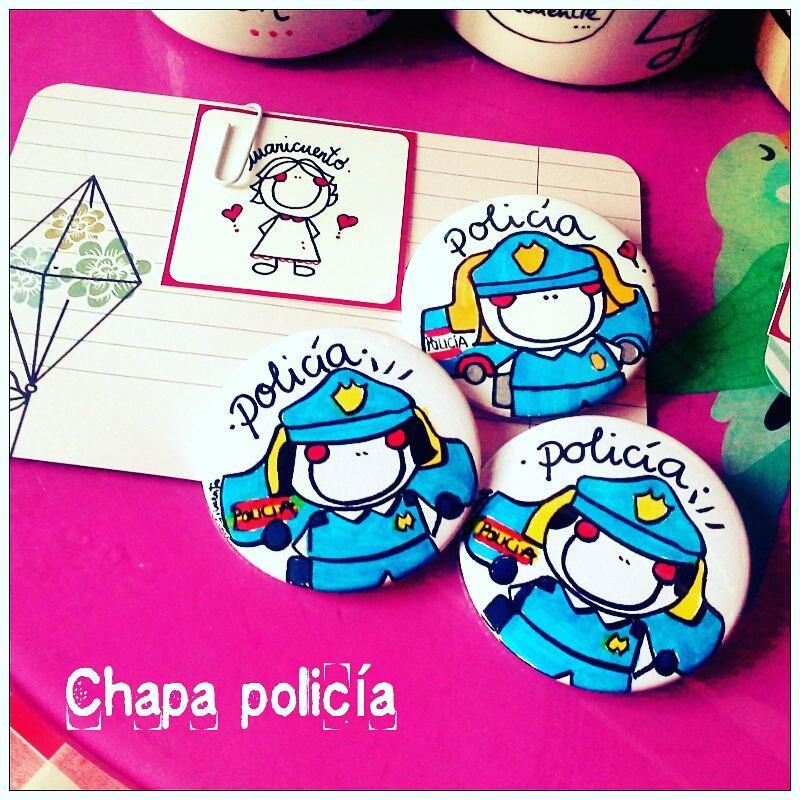 Chapa Policía