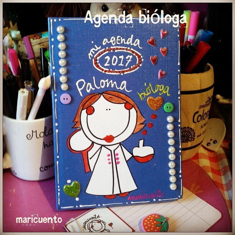 Agenda Bióloga. Talla L