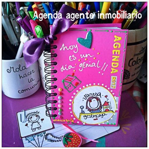 Agenda Agente Inmobiliario. Talla M