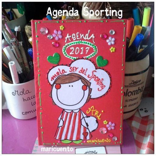 Agenda Sporting.Talla L.