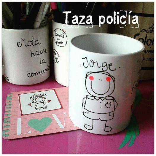Taza Policía