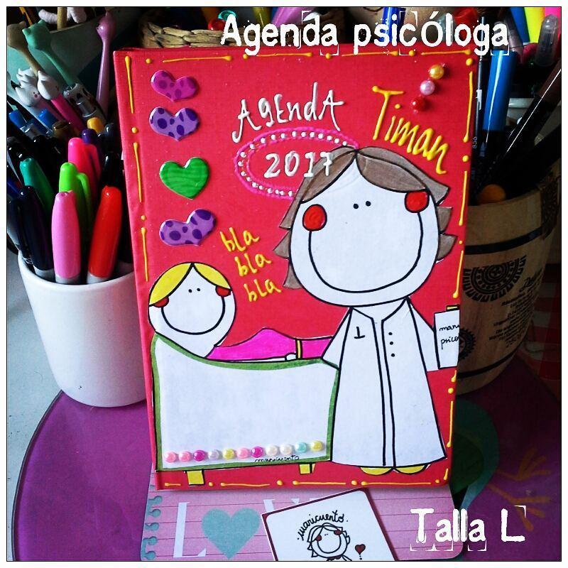 Agenda Psicóloga. Talla L