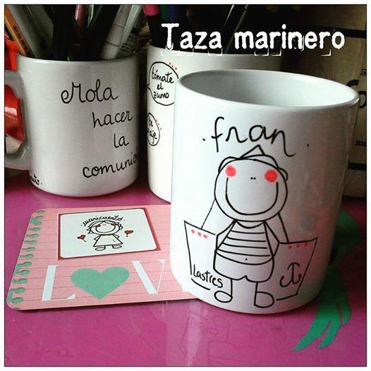Taza marinero