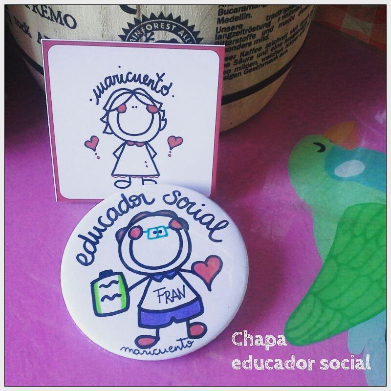 Chapa educadora social