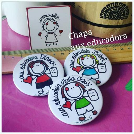 Chapa Aux. Educadora
