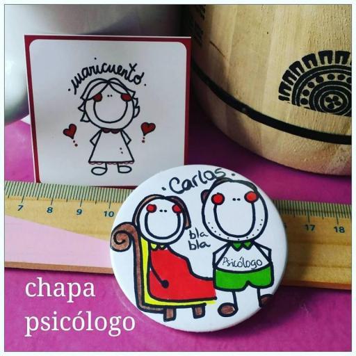 Chapa psicóloga/psiquiatra [2]