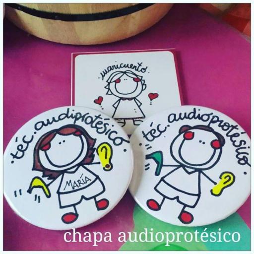 Chapa audioprotésico