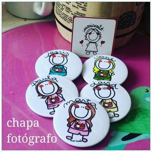Chapa fotógrafa