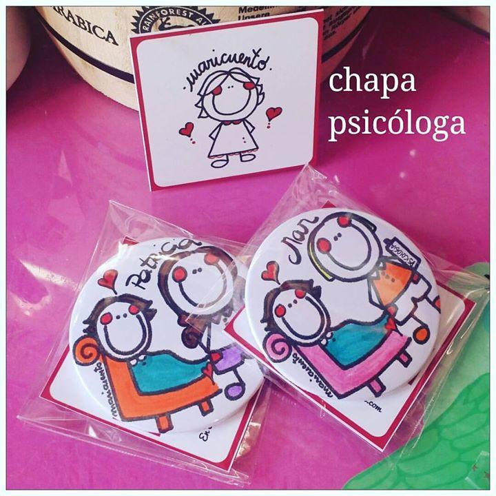 Chapa psicóloga/psiquiatra