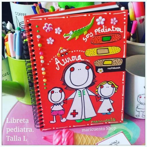 Libreta Pediatra.Talla L.