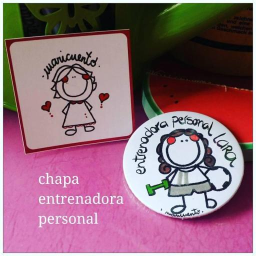 Chapa Entrenador Personal [3]