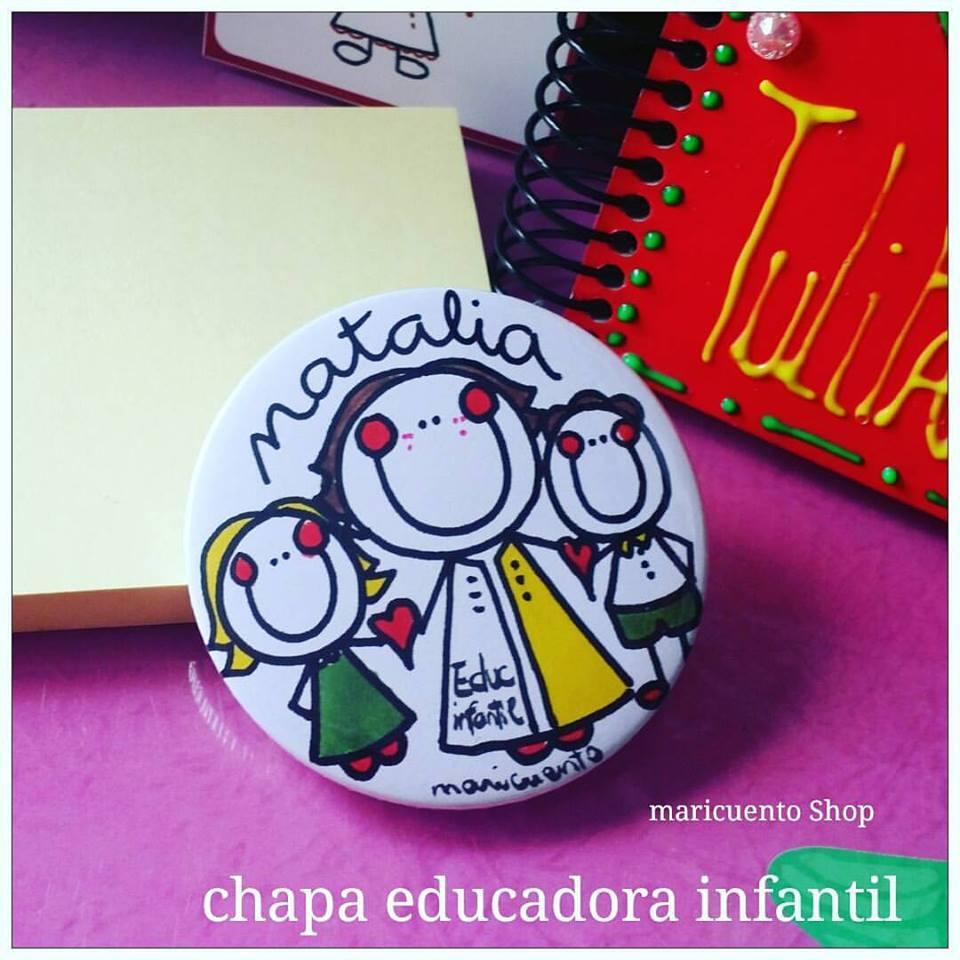 Chapa Educadora Infantil
