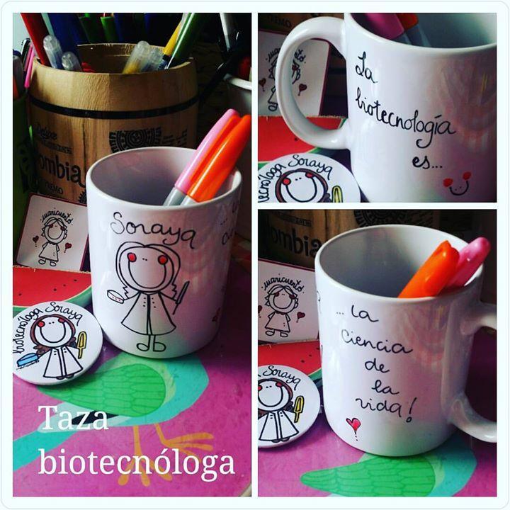 Taza Biotecnóloga