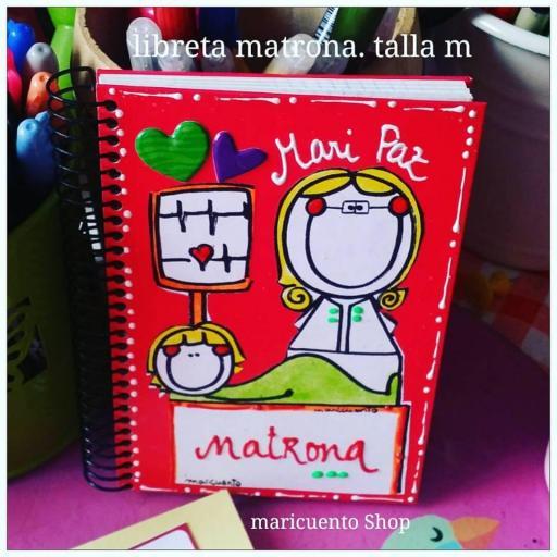 Libreta Matrona. Talla M. [2]