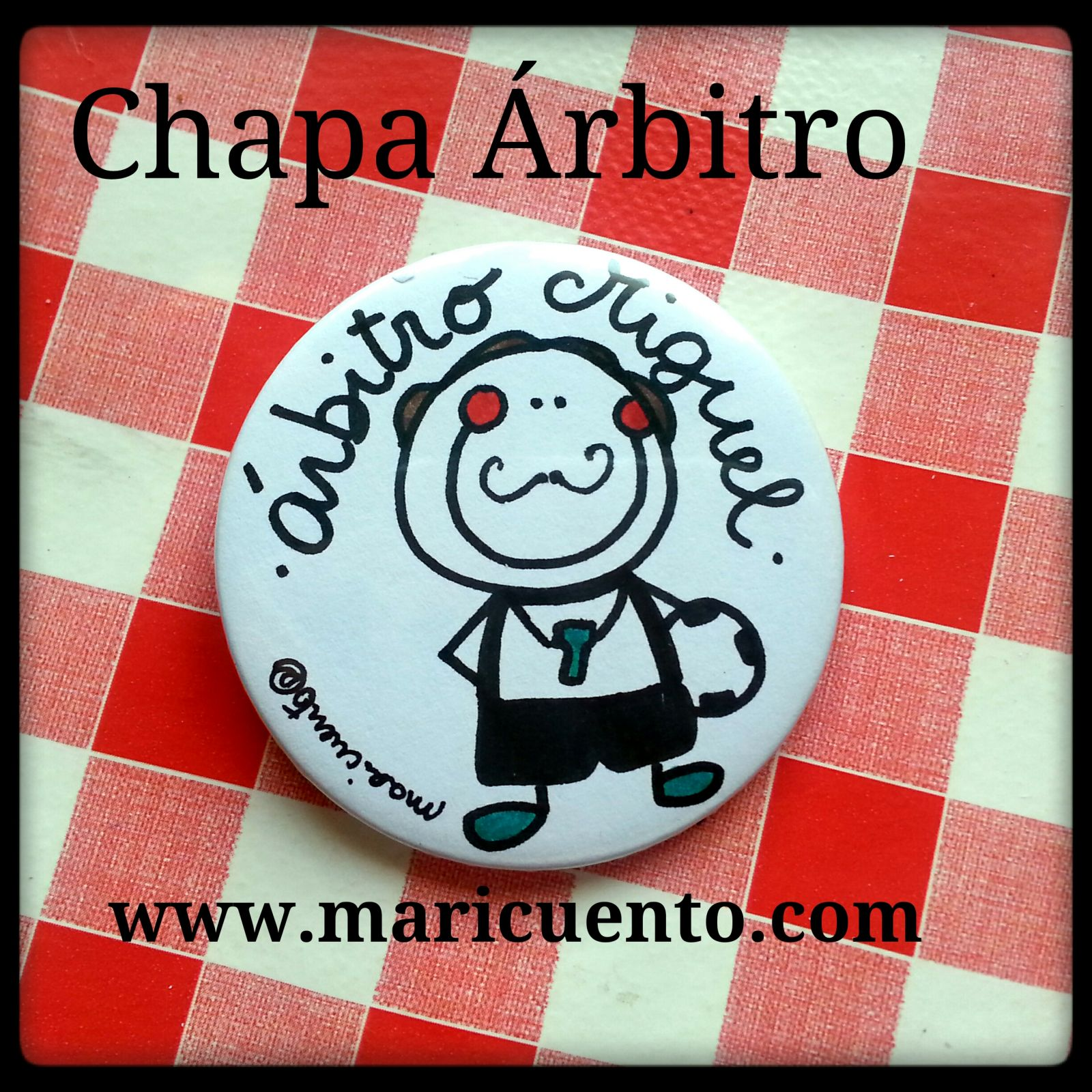 Chapa Árbitro
