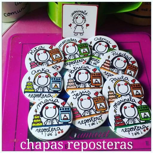 Chapa repostera
